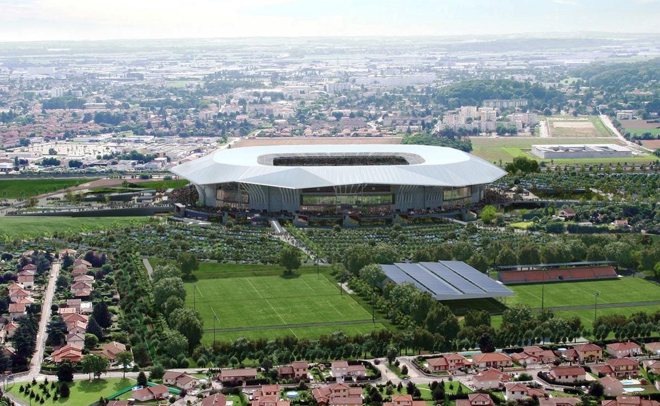 Olympic Park - Lyon - France